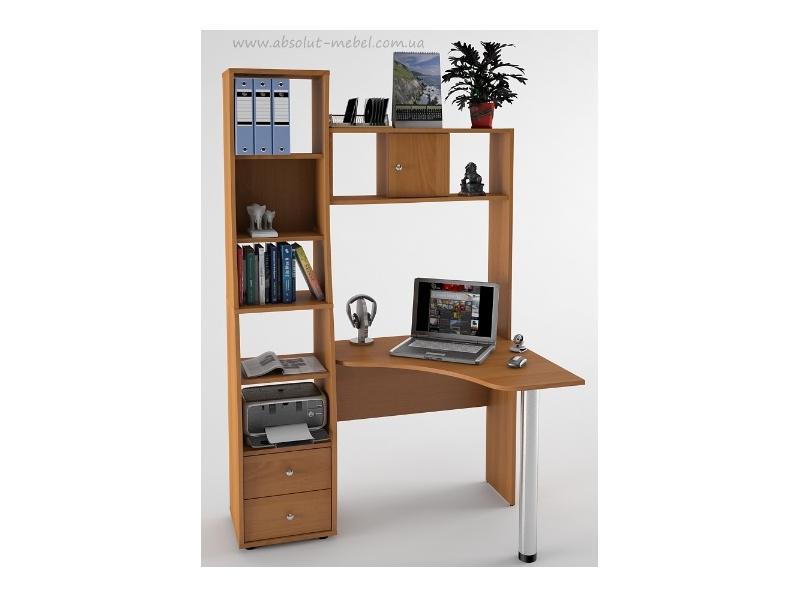 Купить компьютерный стол с-814 для домашнего офиса, киев, дн.