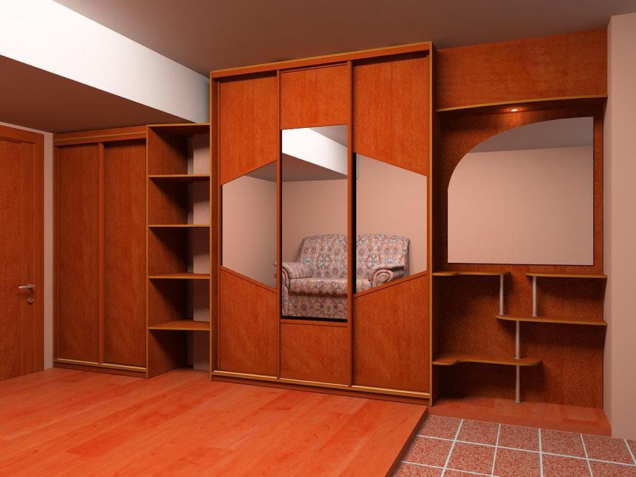 Изготовление мебели встроенной.